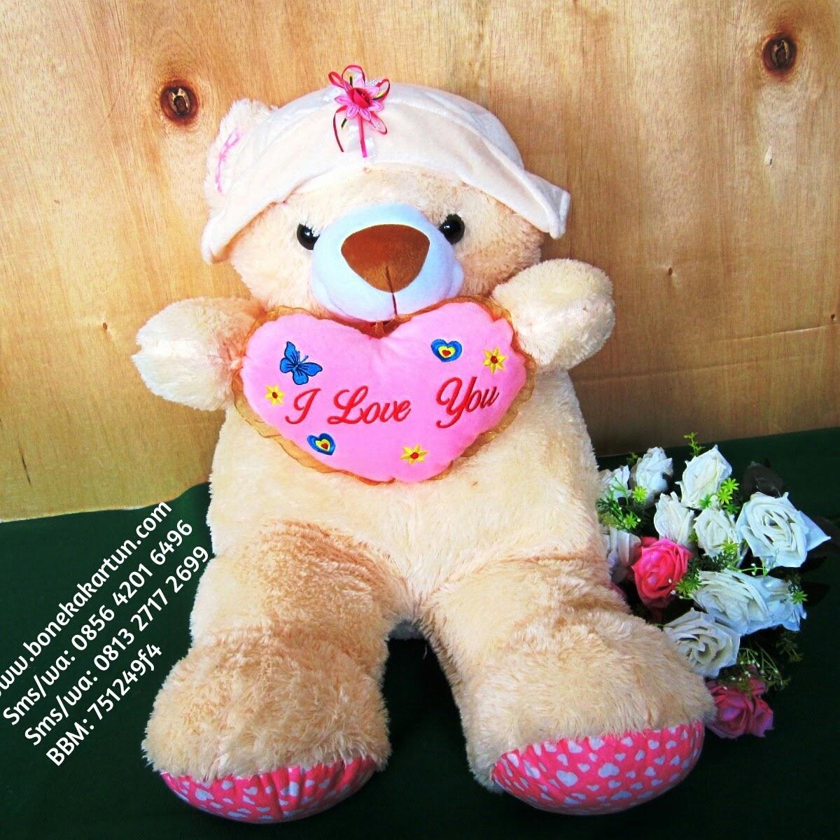 Produk Boneka Lucu Teddy Bear Jumbo Murah Jual Harga Grosir Toko 069b9186a8