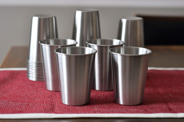Stainless Steel Cups | Taste As You Go