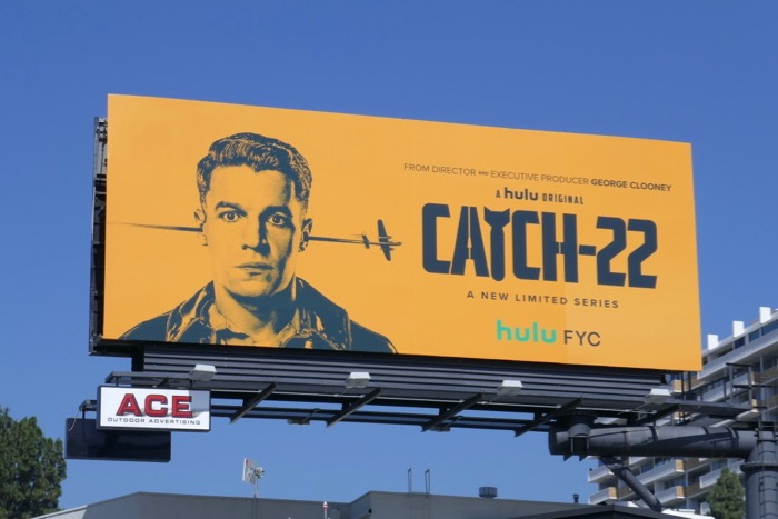 Catch-22 2019 Emmy FYC billboard