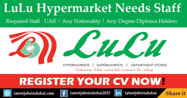 LuLu Hypermarket careers and job vacancies in Dubai