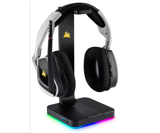 CORSAIR ST100 RGB Premium Headset Stand review