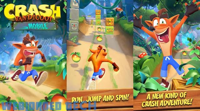 Download Crash Bandicoot 1.0.76  Mod Apk Latest