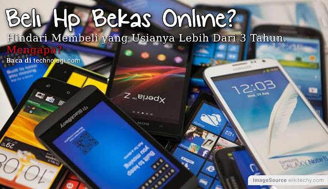Tips Beli Hp Android Second di Toko Online