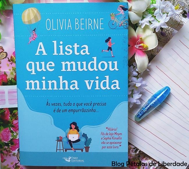 livro A lista que mudou minha vida, Olivia Beirne