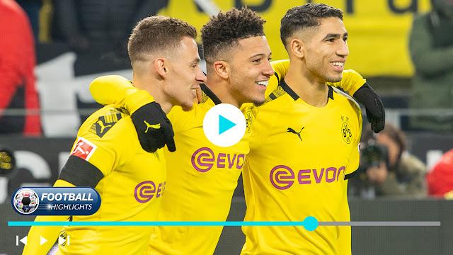 Paderborn vs Borussia Dortmund – Highlights