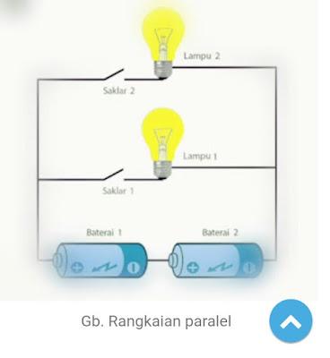 Rangkaian seri dan paralel baterai
