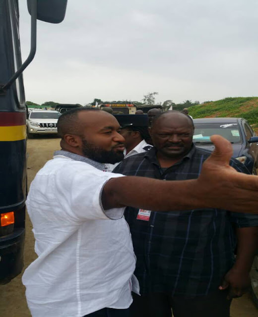 Joho Blocked from Attending the Miritini SGR launch. PHOTO | COURTESY