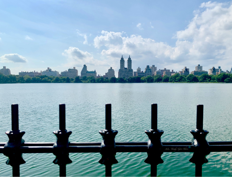 Jacqueline Kennedy Onassis Reservoir in New York City  | Ms. Toody Goo Shoes