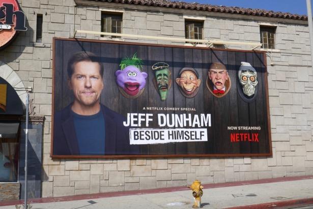 Jeff Dunham Beside Himself billboard