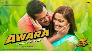 Awara song lyrics | Dabangg 3 | Salman Ali | Muskaan