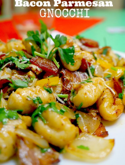 Bacon Parmesan Gnocchi