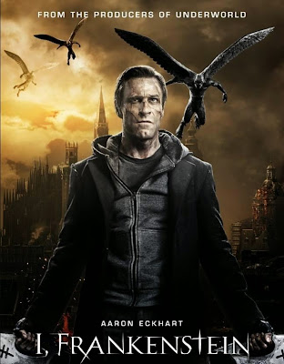Poster Of I, Frankenstein In Dual Audio Hindi English 300MB Compressed Small Size Pc Movie Free Download Only At worldfree4u.com