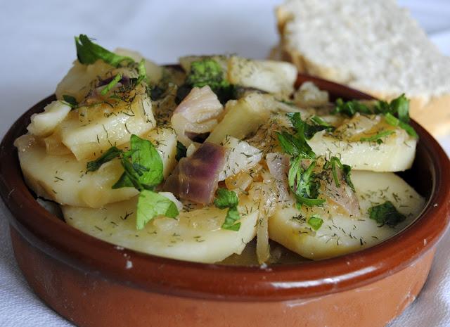 Patatas Cocidas en Cazuela (Kartoffelgemüs)