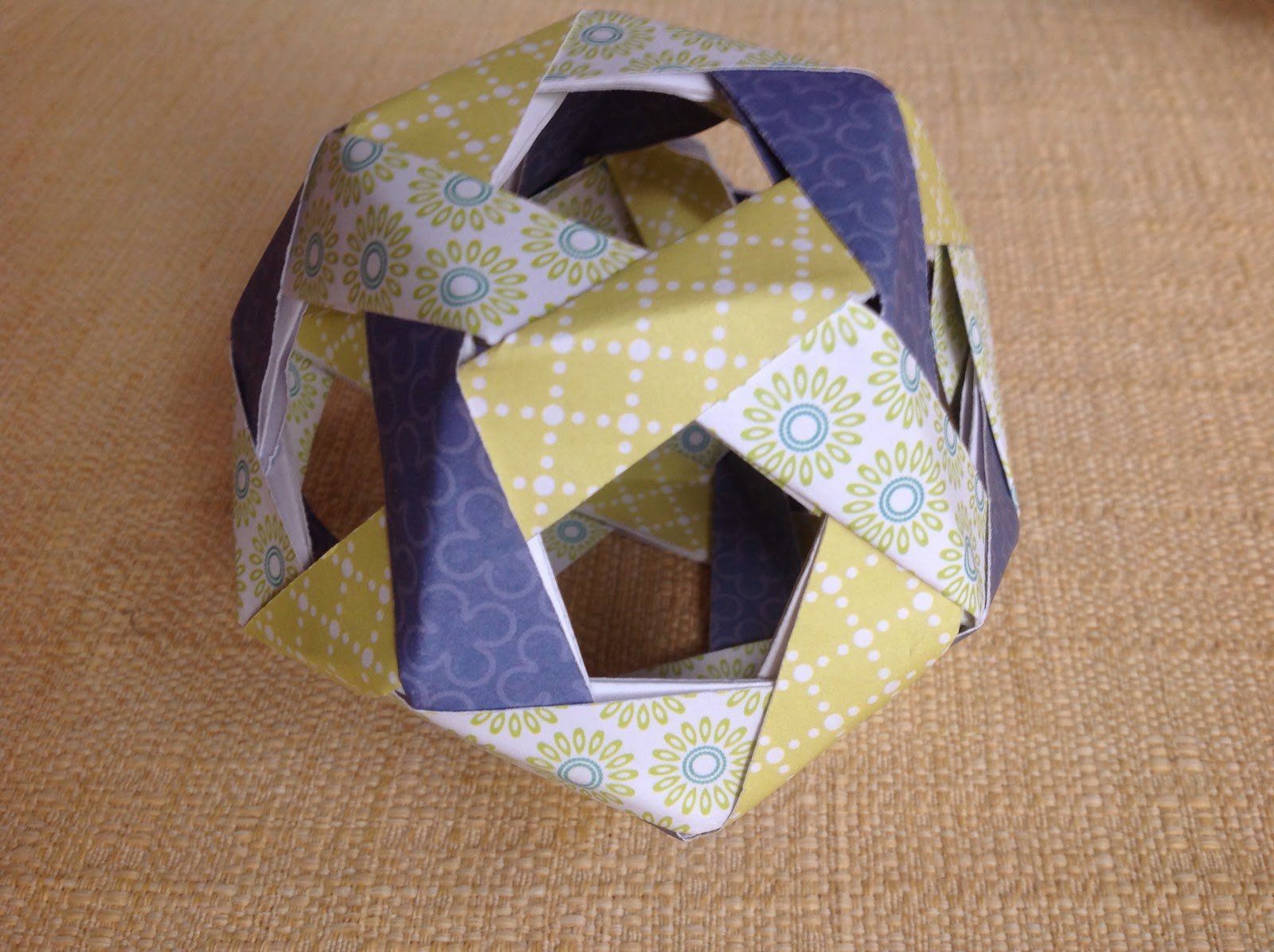 Papercrafts and other fun things: Origami Buckyball Puzzle - photo#43