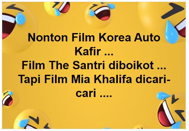 Aneh!! Nonton Film Korea Dicap Kafir, Film The Santri Dikecam, tapi Film Mia Khallifa Dicari