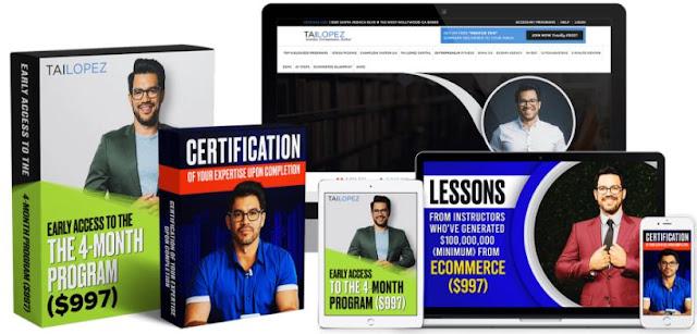 Tai Lopez - Ecommerce Specialist Certification 2020