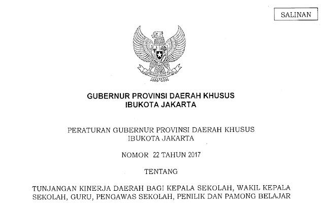 Peraturan gubernur DKI Jakarta Nomor 22 Tahun 2017