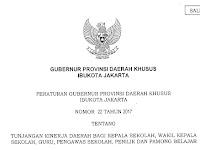 Berapa Besar Tunjangan Kinerja Daerah (TKD) Guru, Kepala Sekolah, Wakil Kepala Sekolah, Pengawas Sekolah, Penilik, dan Pamong Belajar di DKI Jakarta ?