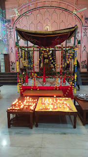 बागपत नगर के जैन मन्दिर में हुआ भव्य सम्मान समारोह का आयोजन | #NayaSaberaNetwork