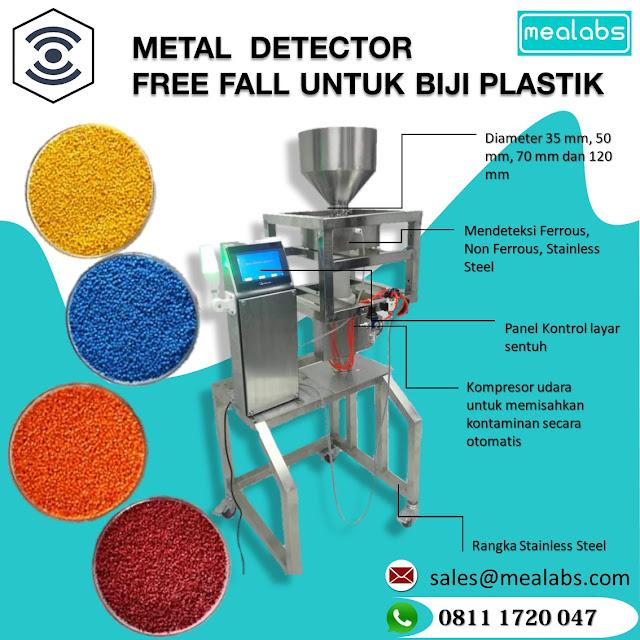metal detector biji plastik