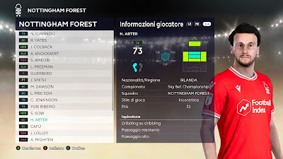 PES 2021 Faces Harry Arter
