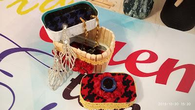 Como fazer porta joias com latas de sardinhas