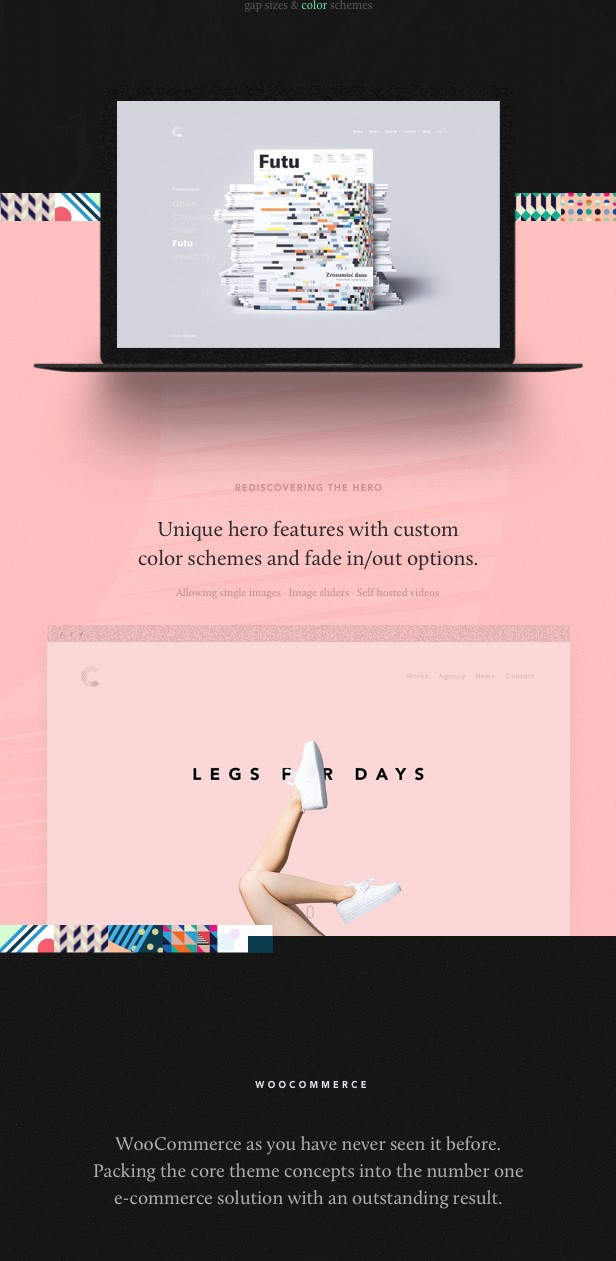 Calafate  Portfolio And WooCommerce Creative WordPress Theme