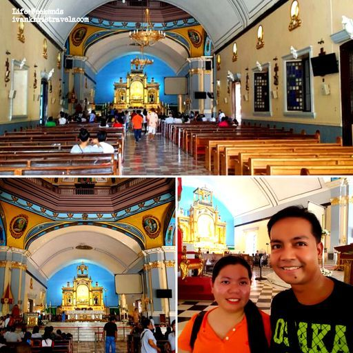 Inside the Our Lady of Manaoag Church