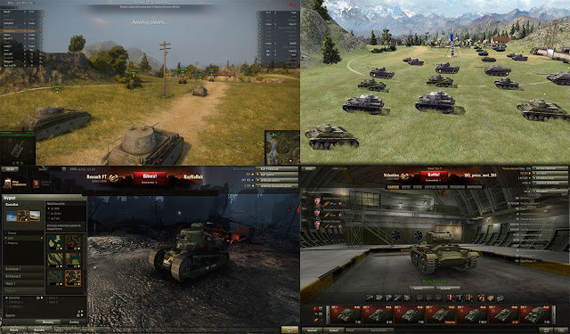 world of tanks graficos y comparativas