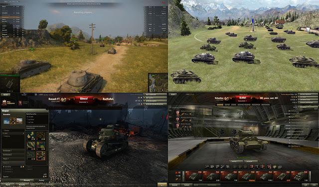 world of tanks graficos y comparativas