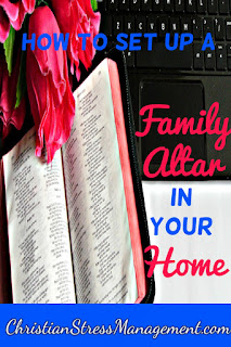 How to set up a family altar in your home