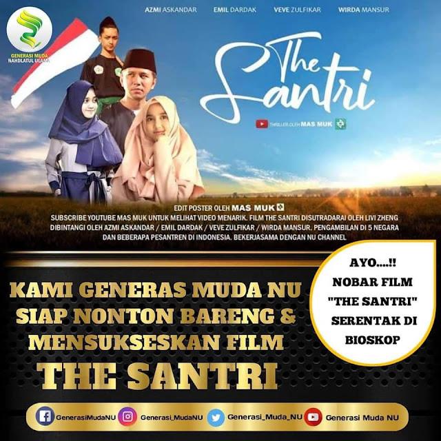 film the santri kontroversi