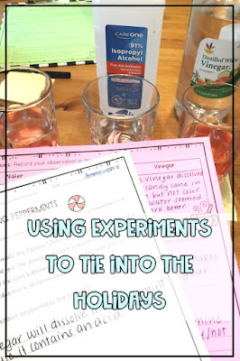 winter and seasonal experiments will inspire and engage upper elementary school students