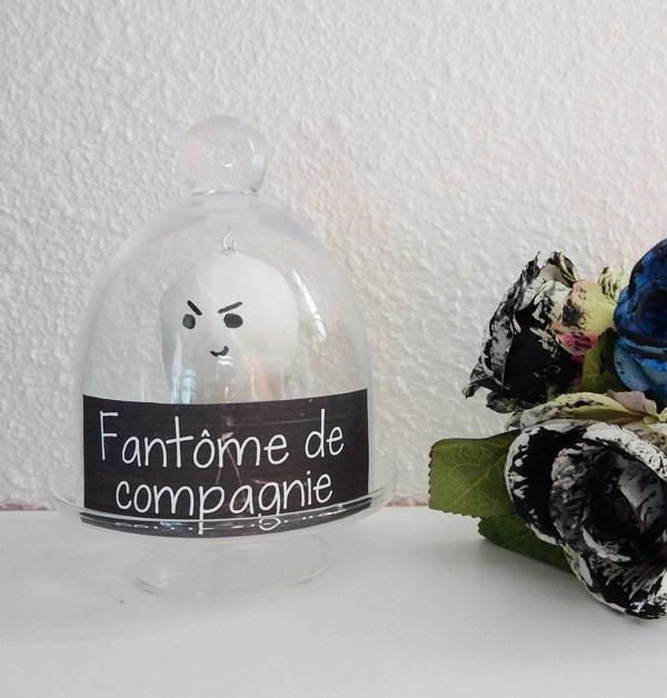 DIY fantôme de compagnie (Halloween)