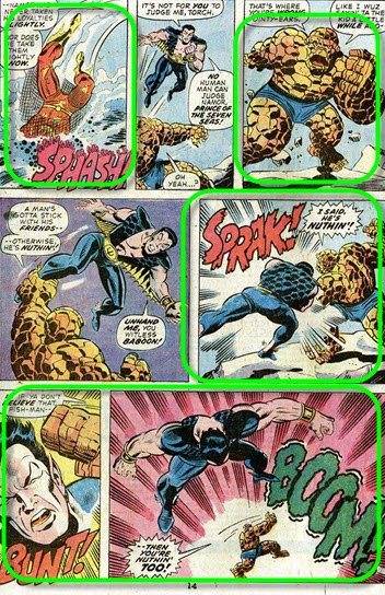 Fantastic Four 147-SubMarinerStrikes