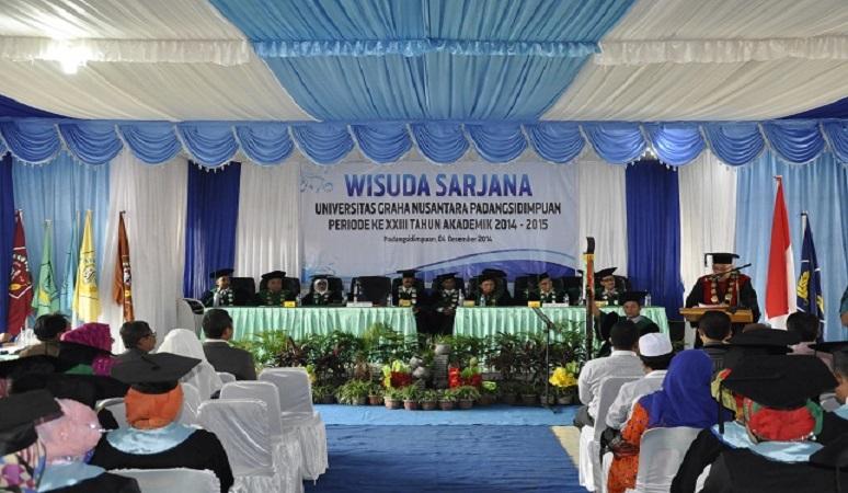 PENERIMAAN MAHASISWA BARU (UGN) UNIVERSITAS GRAHA NUSANTARA