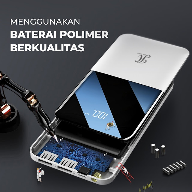 Jimshoney Powerbank versi 03
