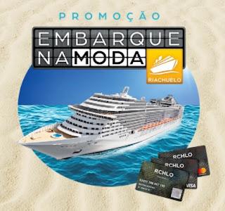 Cadastrar Promoção Riachuelo Cartões 2017 Embarque Moda Cruzeiros