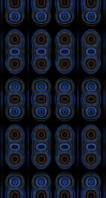 Multi-colored smartphone background 1080x2016