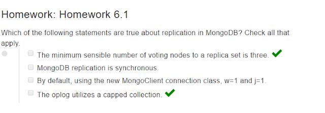 mongodb dba homework 5.2