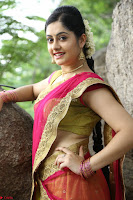 Actress Ronika in Red Saree ~  Exclusive celebrities galleries 024.JPG