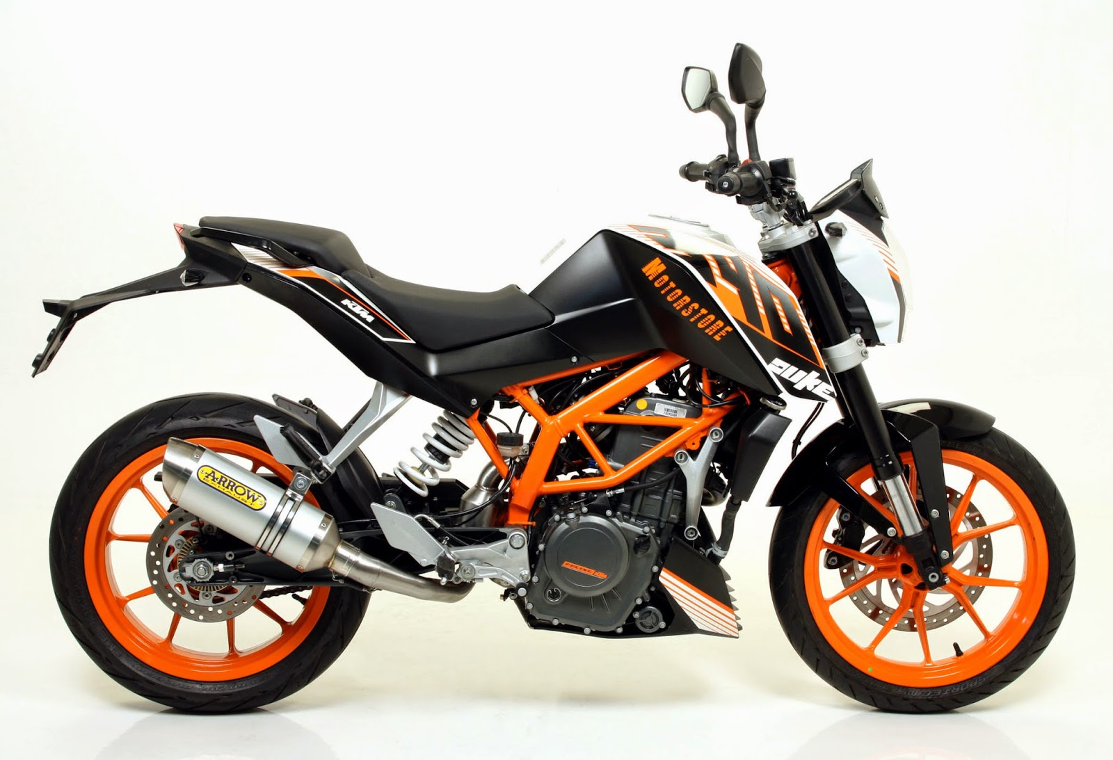 ktm 390 duke india arrow exhaust for ktm 390 duke. Black Bedroom Furniture Sets. Home Design Ideas