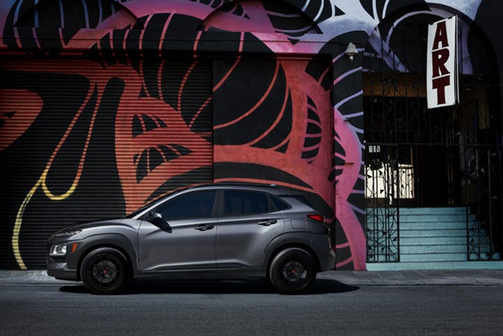 Hyundai Kona 2021 thêm phiên bản 'bóng đêm', cạnh tranh Kia Seltos