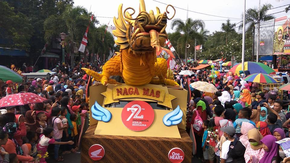 Partisipasi Nagamas Motor Karnaval Klaten 2017
