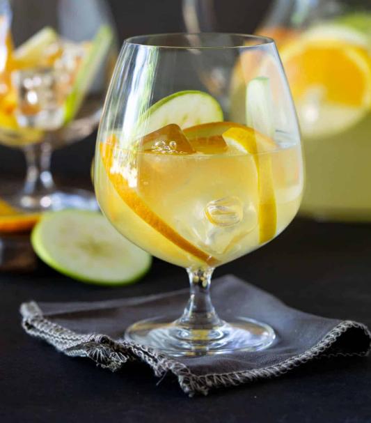 SANGRIA LEMONADE #lemonade #sangria