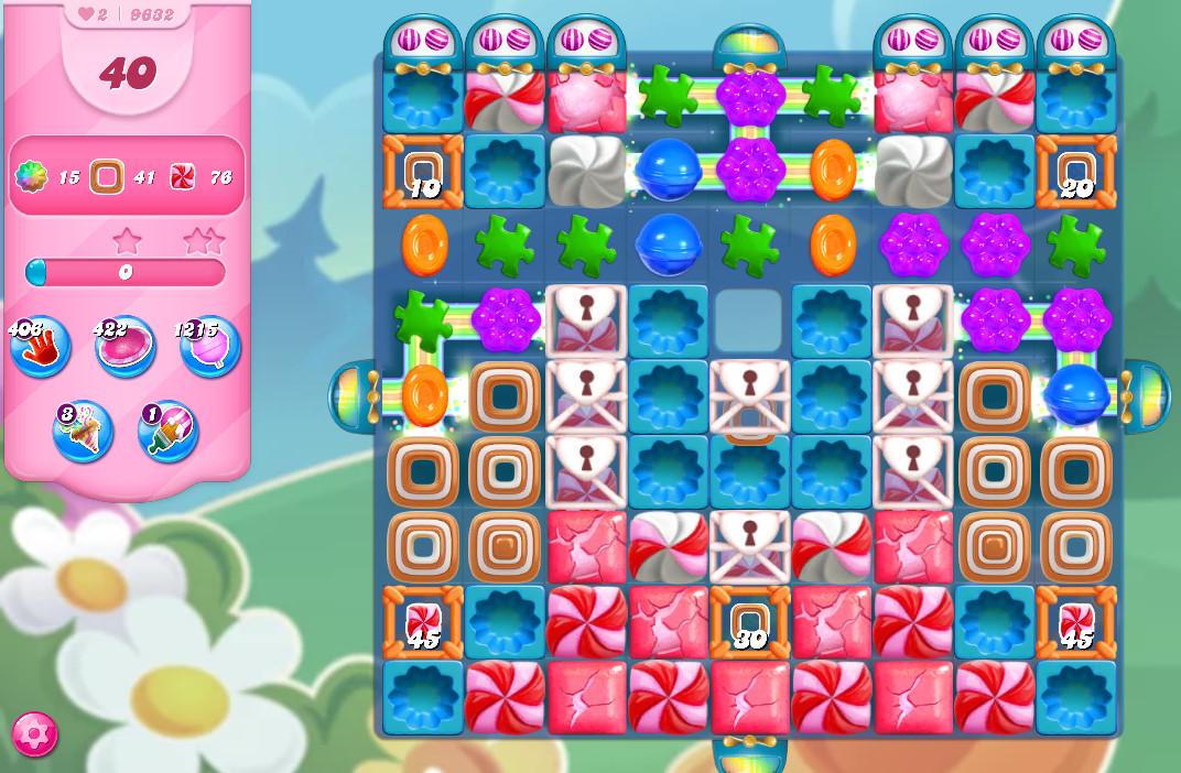 Candy Crush Saga level 9632