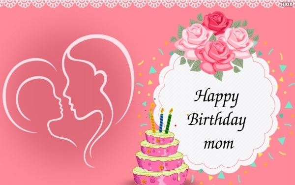 Happy Birthday Mom Wishes Cakes Greeting Cards Sms