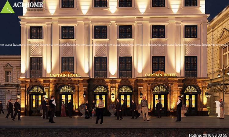 Thiết kế khách sạn Captain Hotel 5 tầng tại Hạ Long - Ảnh 5