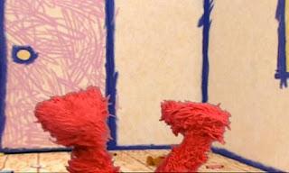 Elmo shows his feet. Sesame Street Elmo's World Feet.