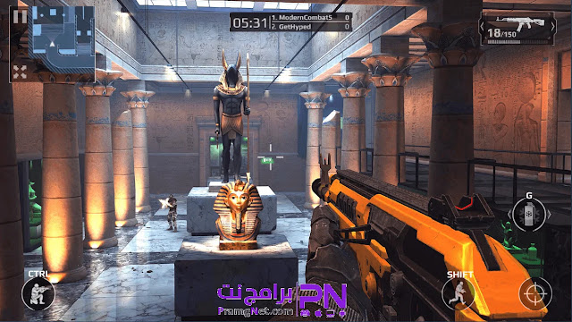 تحميل لعبة Modern combat 5 للاندرويد